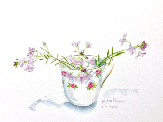 Annette Fienieg; Cuckoo flowers, 5-4-2021