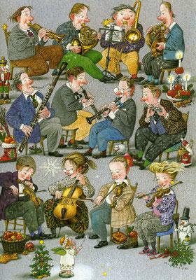 Tilman Michalski: illustratie, orkest