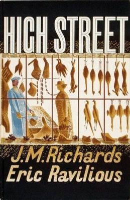 Eric Ravilious: Highstreet boekomslag
