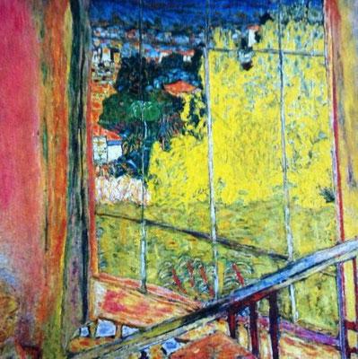 Pierre Bonnard: Atelier met mimosa