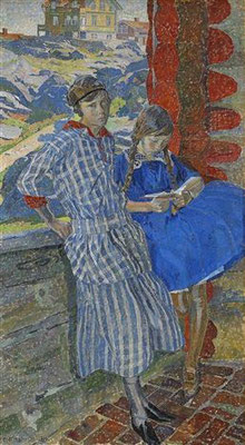 Carl Wilhelmson: sisters