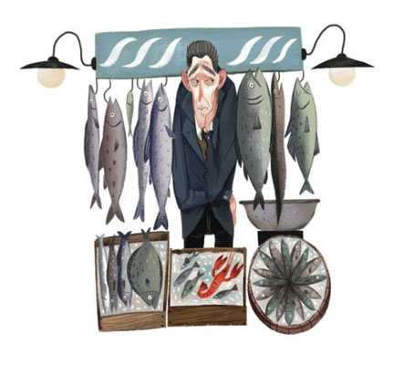 Juliá Sardà: Fishmonger