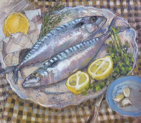 Felicity House: Two smart mackerel