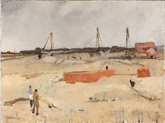 George Breitner: Building site of the Wilhelmina Gasthuis