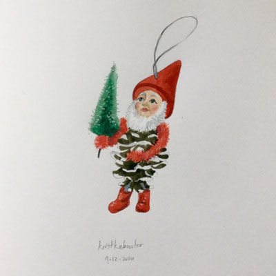 Annette Fienieg: Christmas gnome