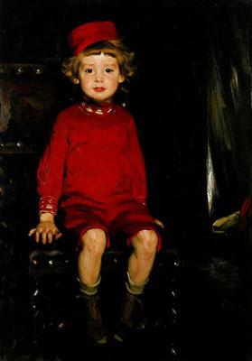 Arthur Kampf: Boy in red