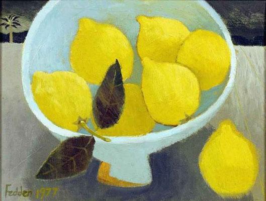 Mary Fedden: Lemons