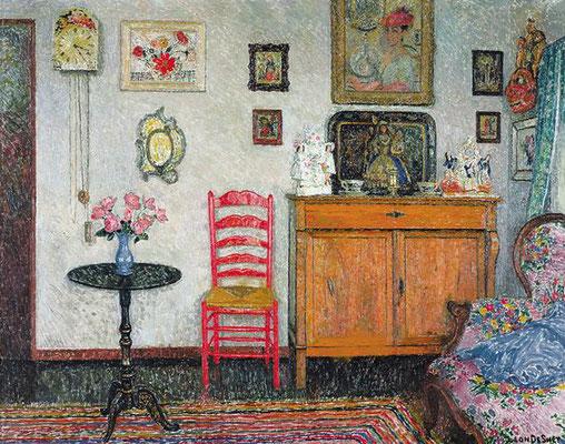 Leon de Smet: interieur van de kunstenaar