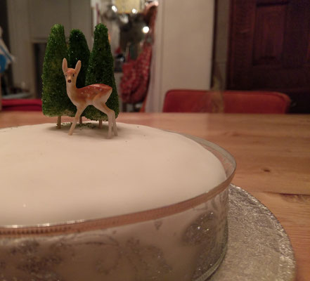 Prachtige -en heerlijke- Christmas Cake van Zest