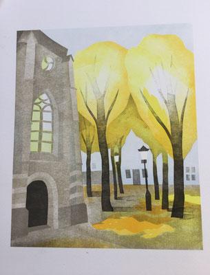 Annette Fienieg: Janskerk (st John's church)