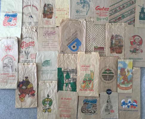 paper bags, brown