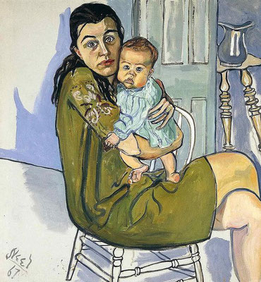 Alice Neel: Nancy and Olivia