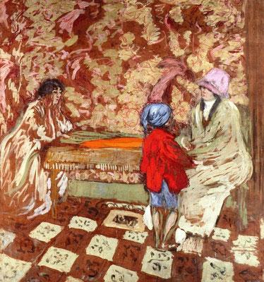 Edouard Vuillard, kind met de blauwe muts