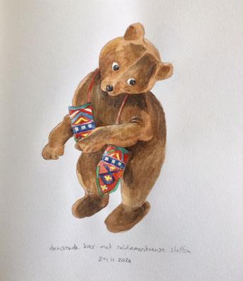 Annette Fienieg: Dancing bear, 24-11-2020