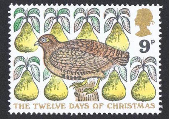 David Gentleman: Christmas stamp