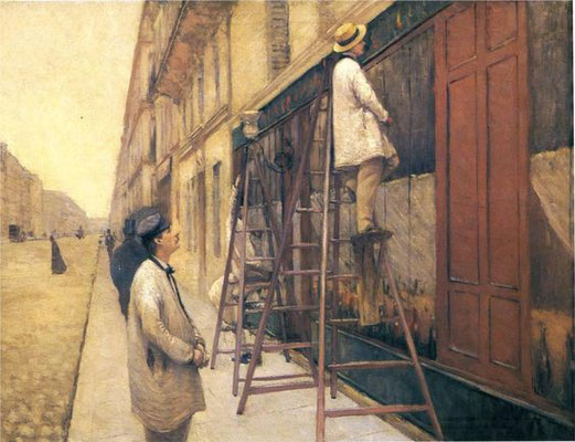 Gustave Caillebotte: The house painters