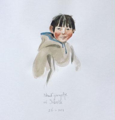 Annette Fienieg: 'Nenet'-jongetje uit Siberie