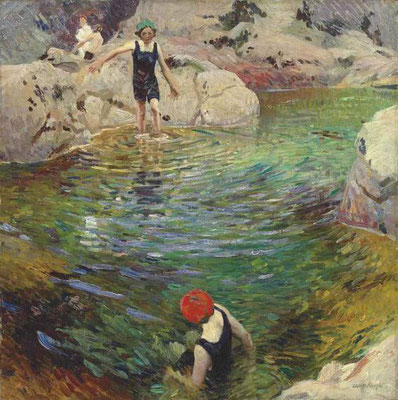 Laura Knight: Bathing