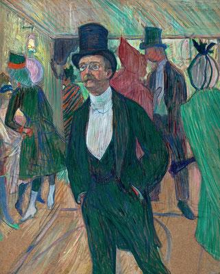 Henri de Toulouse-Lautrec: Monsieur Fourcade