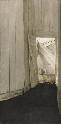 Andrew Wyeth: Cooling shed