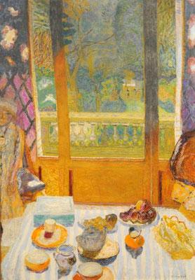 Pierre Bonnard: De ontbijttafel
