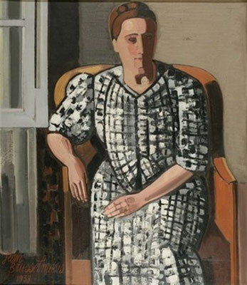 Jean Brusselmans: Portrait of Mrs Brusselmans