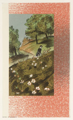 Barnett Freedman: Illustration for Jane Eyre