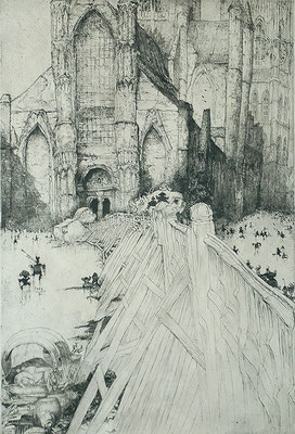 Jules de Bruycker: St Niklaaskerk, Gent