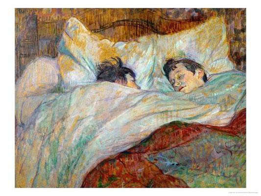 Henri de Toulouse-Lautrec: Het bed