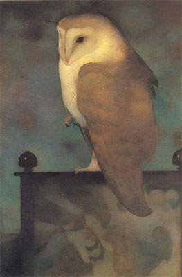 Jan Mankes: Barn owl