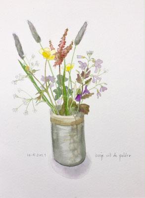 Annette Fienieg: Field flowers, 10-5-2021