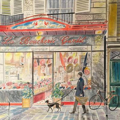 Emily Sutton: La Boucherie Gardil