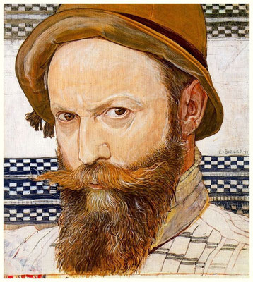 Ernest Biéler: Self portrait