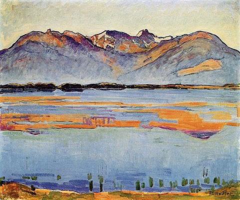 Ferdinand Hodler: Montana meer
