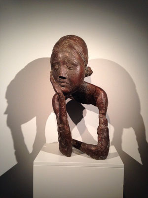 Waldemar Otto: Büste Maureen Crowley