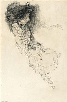 Jules de Bruycker: La vieille coquette