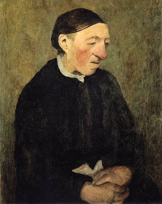 Paula Modersohn-Becker: Oude boerenvrouw
