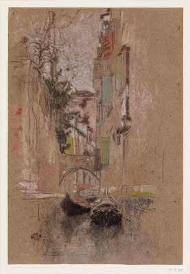 James Abbott McNeill Whistler: Venetian canal