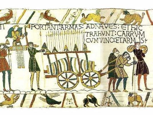 Tapis de Bayeux, detail