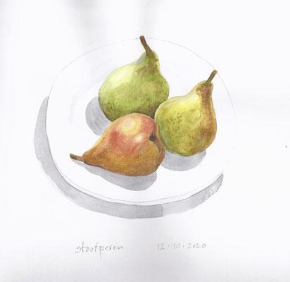 Annette Fienieg: Pears 12-10-2020