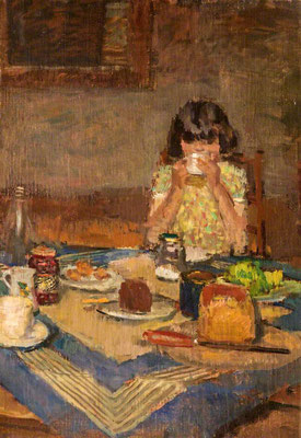 Ruskin Spear: The tea table
