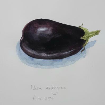 Annette Fienieg: Kleine aubergine