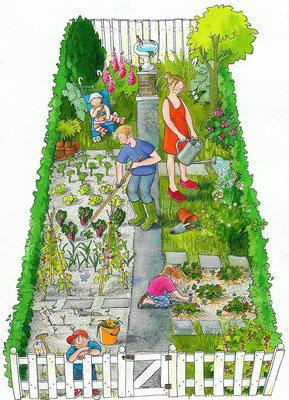 Annette Fienieg: Een tuin van mezelf