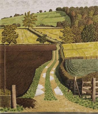 Simon Palmer: Bridleway at Burton