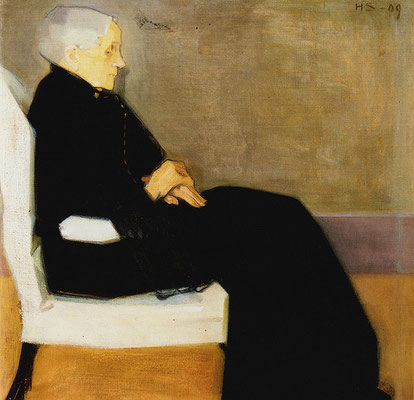 Helene Schjerfbeck: My mother, 1909