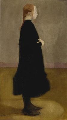 Helene Schjerfbeck: Schoolmeisje II, 1908
