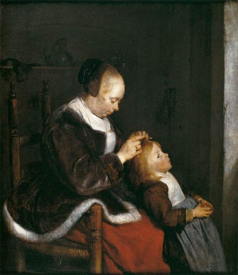 Gerard ter Borch: Hunting for lice
