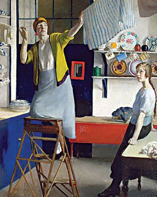 Harold Harvey: In the kitchen