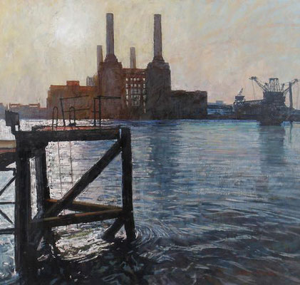 William Bowyer: Battersea power station