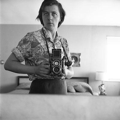 Vivian Maier; zelfportret